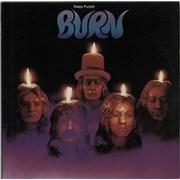 Deep Purple Burn USA vinyl LP