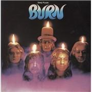 Deep Purple Burn Greece vinyl LP