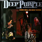 Deep Purple Come Hell Or High Water Japan poster Promo