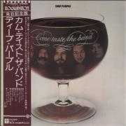Deep Purple Come Taste The Band + Sticker Sheet Japan vinyl LP