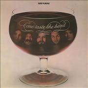 Deep Purple Come Taste The Band - 1st - VG UK vinyl LP