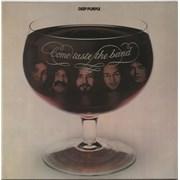 Deep Purple Come Taste The Band USA vinyl LP