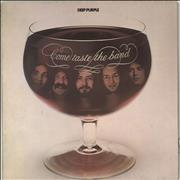 Deep Purple Come Taste The Band Germany vinyl LP