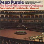 Deep Purple Concerto For Group And Orchestra - 1st UK vinyl LP