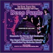 Deep Purple Concerto For Group And Orchestra UK DVD-Audio disc