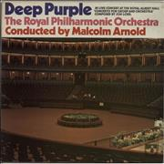 Deep Purple Concerto For Group And Orchestra - Made In USA UK vinyl LP