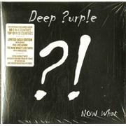 Deep Purple Deep ?urple - Now What?! UK 2-CD album set