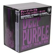 Deep Purple Deepest Trilogy Box Japan 3-CD set