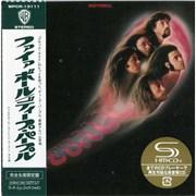 Deep Purple Fireball Japan SHM CD Promo