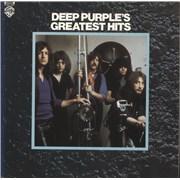 Deep Purple Greatest Hits Japan vinyl LP