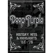 Deep Purple History, Hits & Highlights '68 - '76 UK DVD