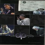 Deep Purple In Concert - Tour Programme & Ticket UK tour programme