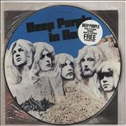 Deep Purple In Rock + Poster UK picture disc LP