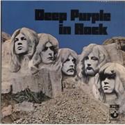 Deep Purple In Rock - 1st - Factory Sample UK vinyl LP