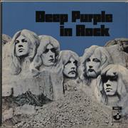 Deep Purple In Rock - 2nd - EX UK vinyl LP