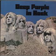 Click here for more info about 'Deep Purple - In Rock - 2nd - VG'