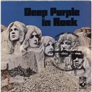 Deep Purple In Rock - Purple Vinyl - EX UK 2-LP vinyl set