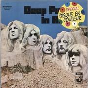 Deep Purple In Rock - Purple Vinyl France vinyl LP