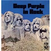 Deep Purple In Rock Greece vinyl LP