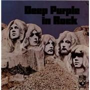 Deep Purple In Rock Korea vinyl LP