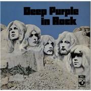 Deep Purple In Rock Netherlands vinyl LP