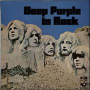 Deep Purple In Rock New Zealand vinyl LP