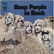 Deep Purple In Rock Italy vinyl LP