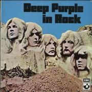 Deep Purple In Rock Greece vinyl LP