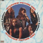 Deep Purple Interview Picture Disc UK picture disc LP