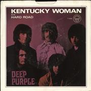 """Deep Purple Kentucky Woman - VG USA 7"""" vinyl"""
