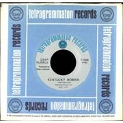 """Deep Purple Kentucky Woman USA 7"""" vinyl"""