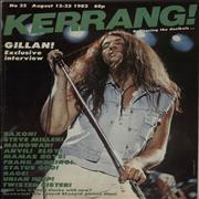 Click here for more info about 'Kerrang! Magazine - Kerrang! Magazine - Aug 82'
