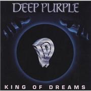 Deep Purple King Of Dreams USA CD single Promo