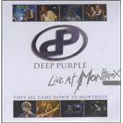 Deep Purple Live At Montreux UK CD-R acetate Promo