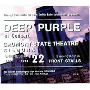 Deep Purple Live In London UK 2-CD album set
