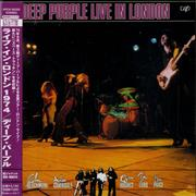 Deep Purple Live In London Japan 2-CD album set Promo