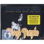 Deep Purple Live In Stockholm 1970 Germany 3-disc CD/DVD Set