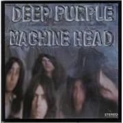 Deep Purple Machine Head + Insert France vinyl LP