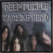 Deep Purple Machine Head - 2nd + Insert UK vinyl LP