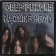 Deep Purple Machine Head - Pathé Marconi UK vinyl LP