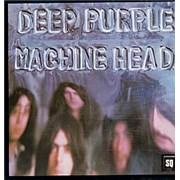 Deep Purple Machine Head - Quadraphonic + Insert UK vinyl LP