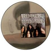 Deep Purple Machine Head UK picture disc LP