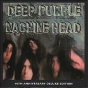 Deep Purple Machine Head UK cd album box set