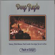 Click here for more info about 'Deep Purple - Made In Europe - 180 gram Purple - Back To Black'