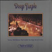 Click here for more info about 'Deep Purple - Made In Europe - 1st - VG+'