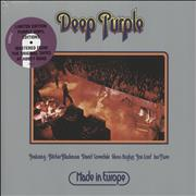 Click here for more info about 'Deep Purple - Made In Europe - Purple Vinyl - Sealed'