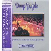 Deep Purple Made In Europe Japan vinyl LP