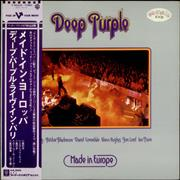 Deep Purple Made In Europe Japan vinyl LP Promo