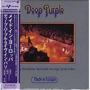 Deep Purple Made In Europe Japan CD album