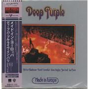 Deep Purple Made In Europe Japan CD album Promo